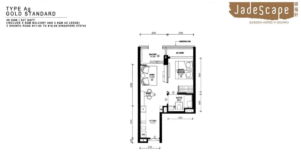 Jadescape Condo Various Floor Plans And Layout And Facing